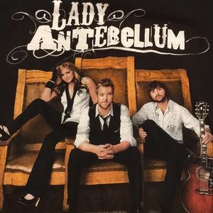 Lady Antebellum band t-shirt size S